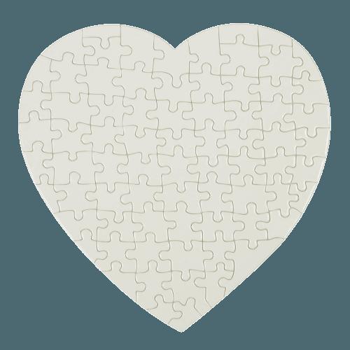 puzzle forma inima